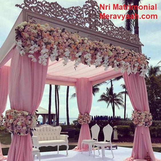 Unique Wedding Mandap