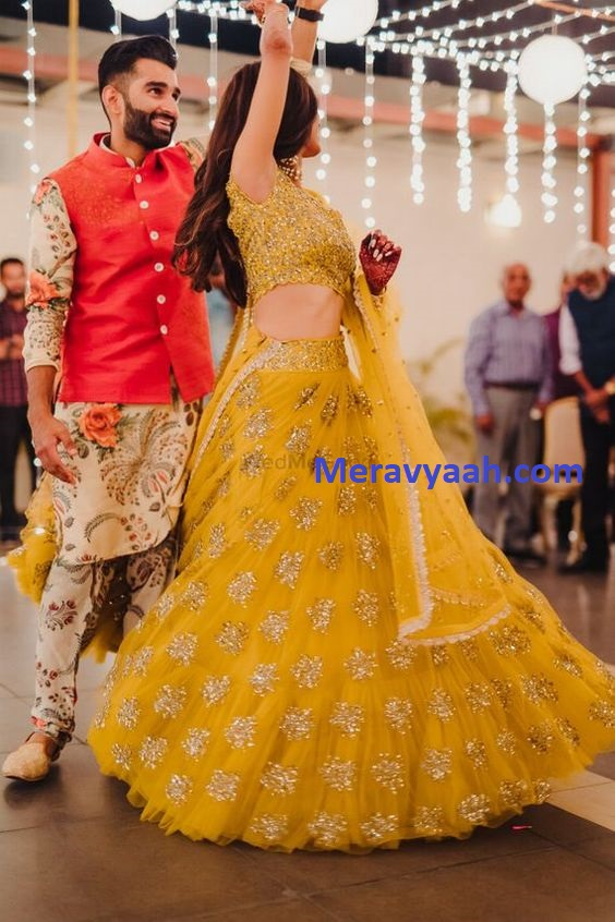 Yellow Bridal Dress