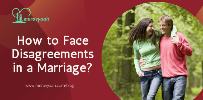 How to Face Disagreements in a Marriage