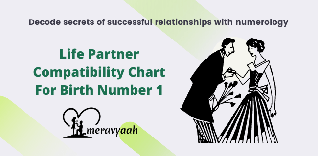 Life Partner Compatibility Chart For Birth Number 1