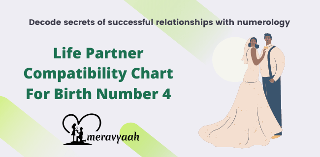 Life Partner Compatibility Chart For Birth Number 5